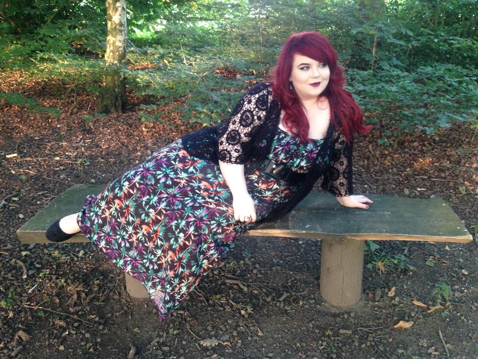 Newlook Inspire Maxi Dress, Georgina Grogan, plus size blogger sheffield, sheffield blogger