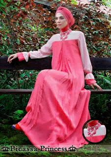 Picassa Princess Maxi Dress