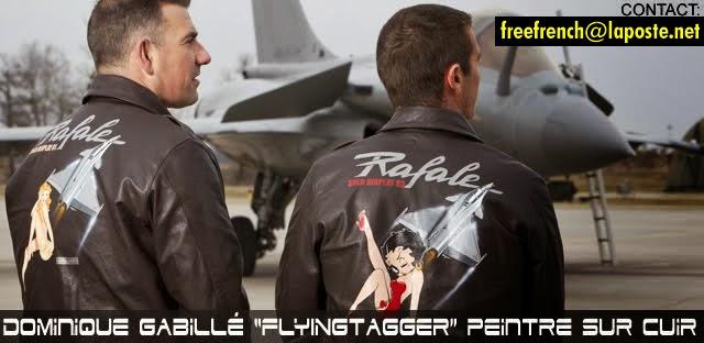 FLYINGTAGGER peinture sur cuir