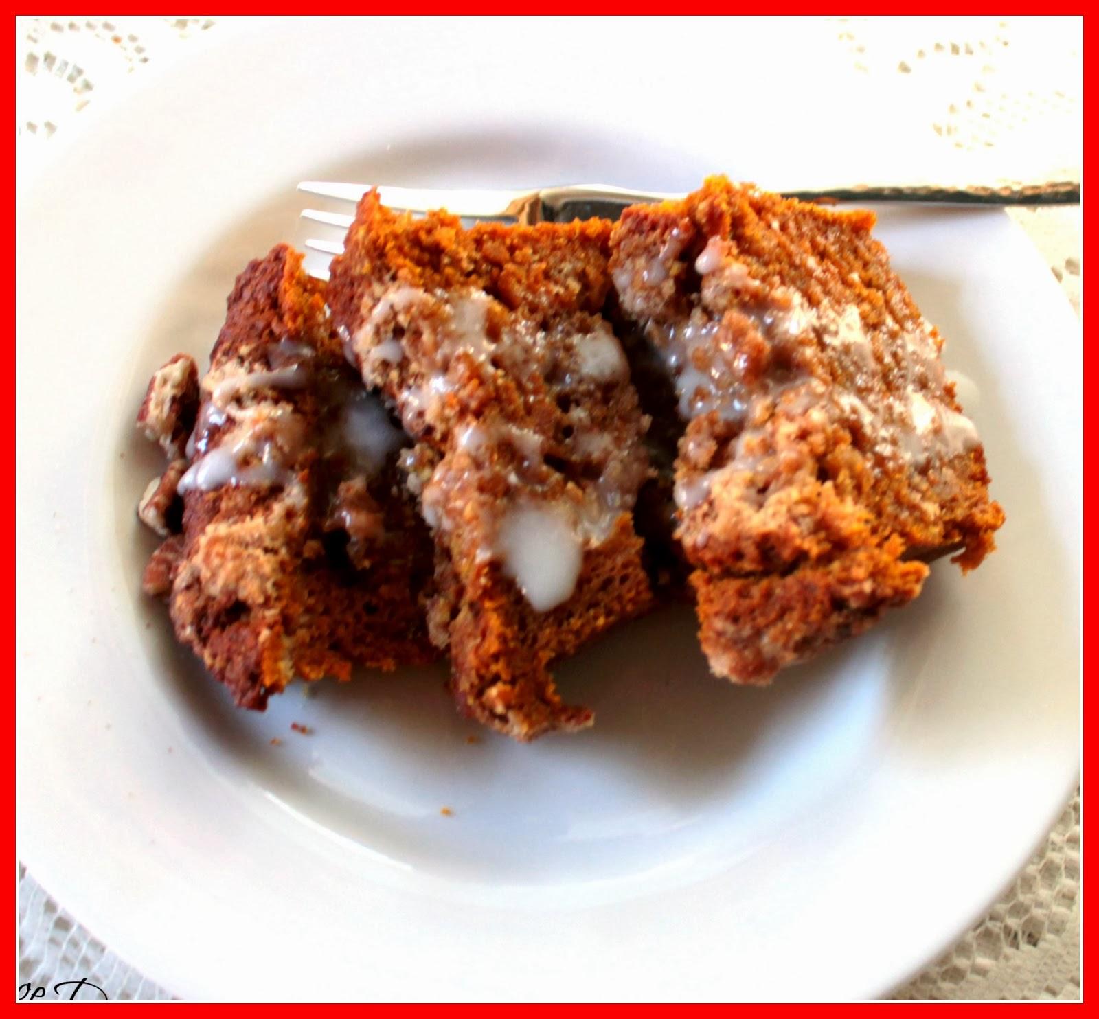... Smiles: Pumpkin Coffee Cake with Brown Sugar Pecan Streusel Topping