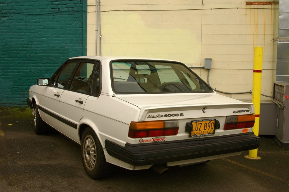Old Parked Cars 1984 Audi 4000s Quattro