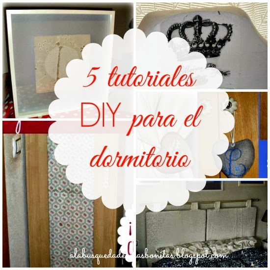 Tutoriales DIY dormitorio
