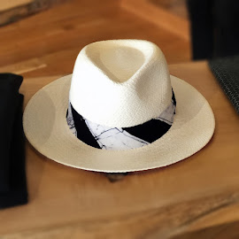 Post Imperial X Larose Paris Panama Hat at Meyvn