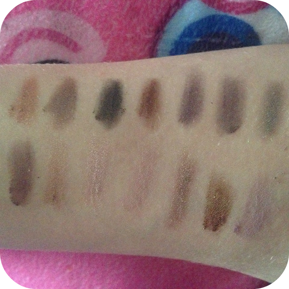 makeup revolution girls on film swatches