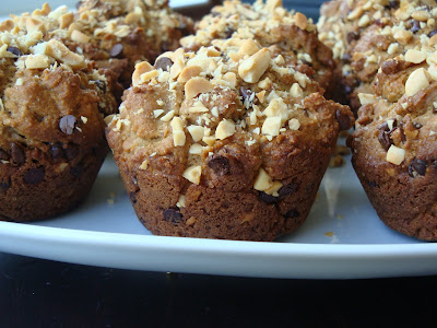 Whole Wheat Peanut Butter Muffins