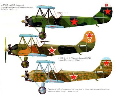 Окраска По-2 (У-2)