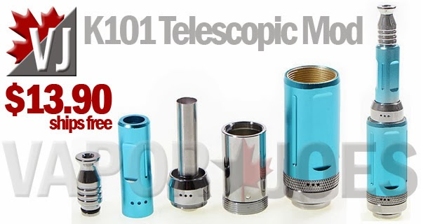 K101 Telescopic Mechanical Mod