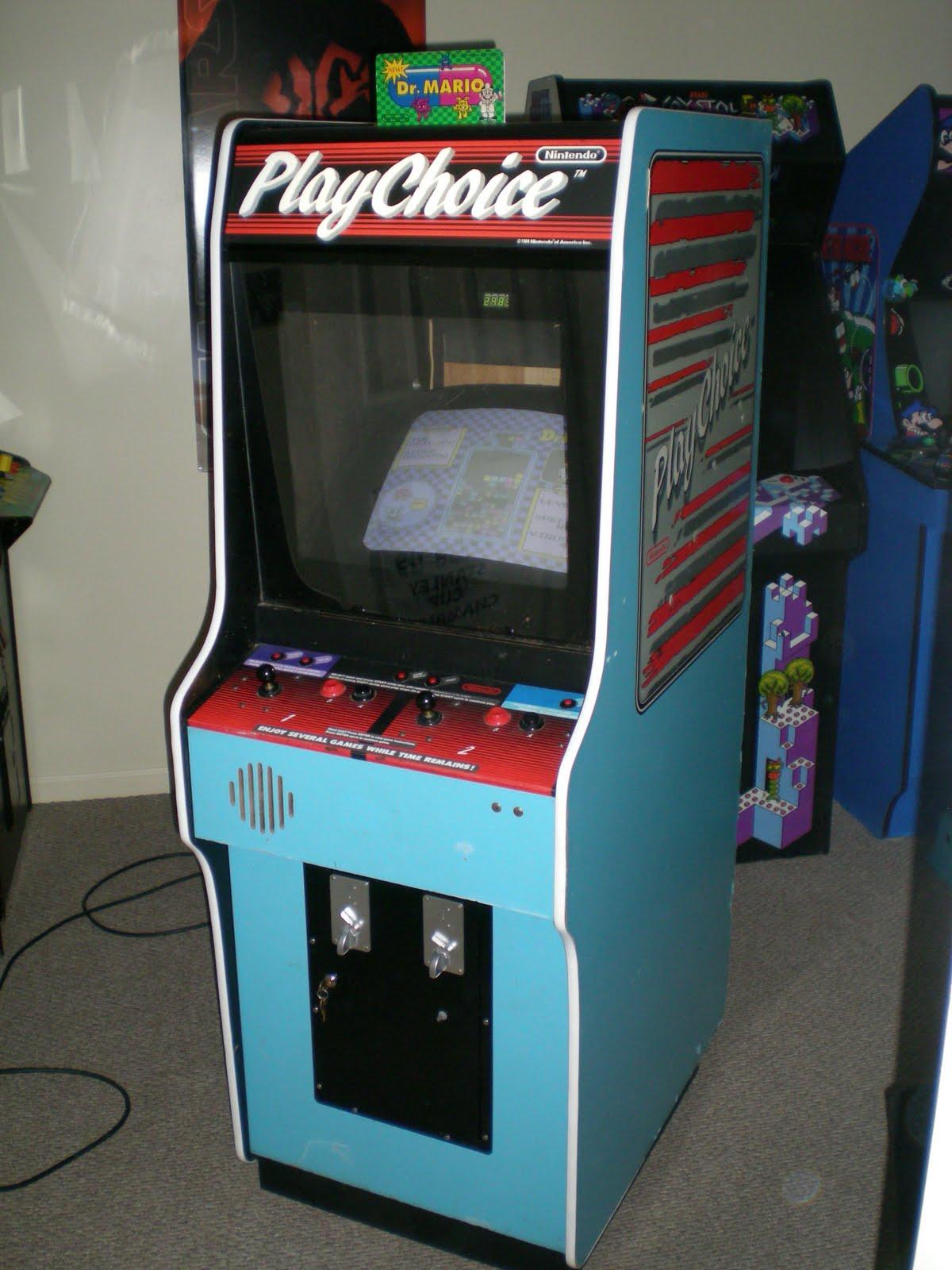 Oldtymetoys Gameroom Amp Arcade Playchoice 10