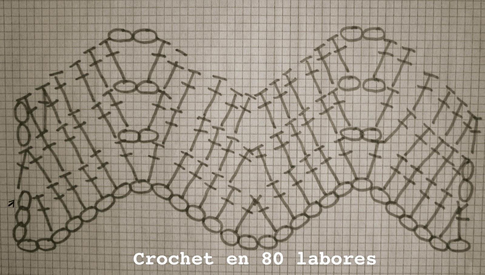 Contemporáneo Patrón De Crochet Chevron Viñeta - Manta de Tejer ...