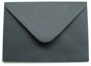 A black envelope