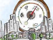 Illustratie cover Gemeentelijke Barometer Fysieke Leefomgeving 2015