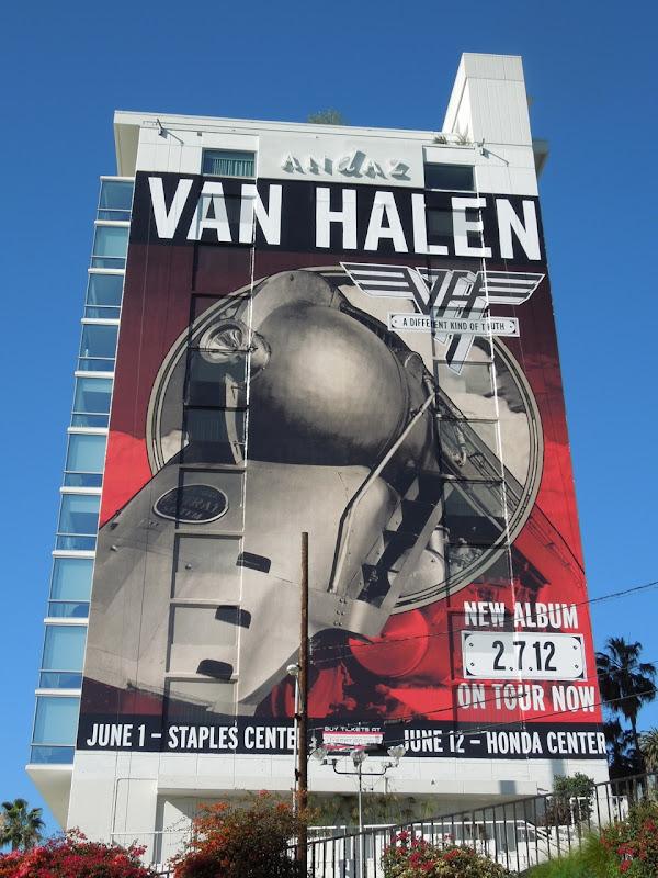 Van Halen Different Kind of Truth billboard