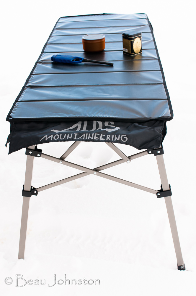 Review ALPS Mountaineering Guide Table