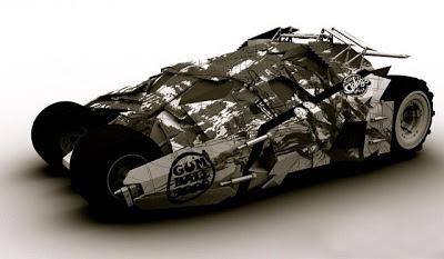 Batman Tumbler and Bespoke Supercar for Gumball 3000