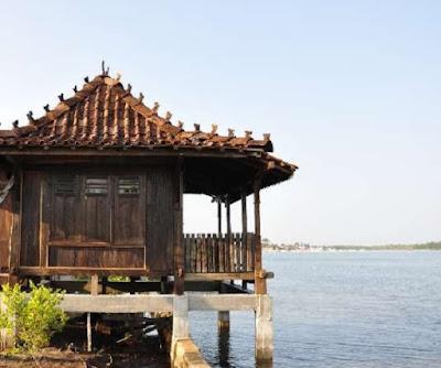 kamar apung kelapa resort