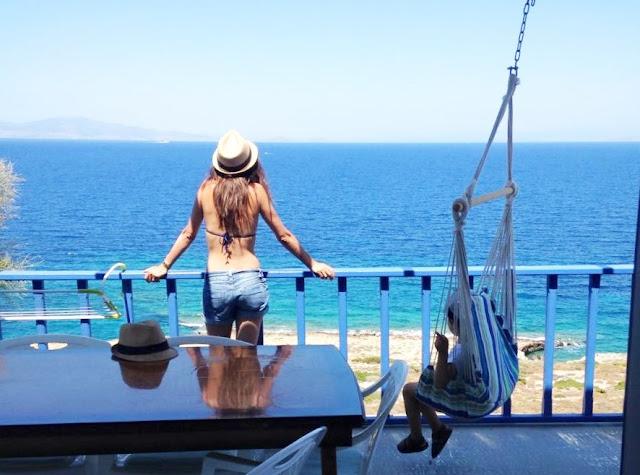 grèce vacances mer été  blog maman enfant famille paris instit maitresse
