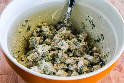 Chicken Salad with Basil and Parmesan (Low-Carb, Gluten-Free) | Kalyn ...
