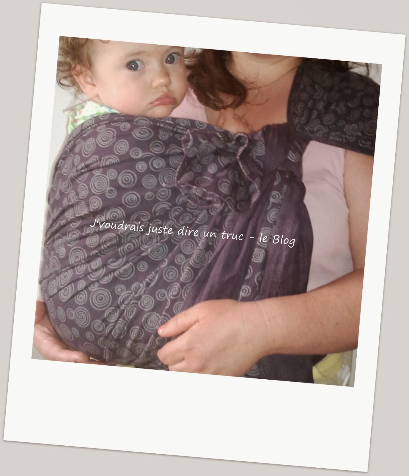 48e12879f4b review portage écharpe Lana sergé brisé coton rondo babywearing