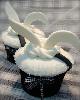 Cupcake orelha de coelhinhos