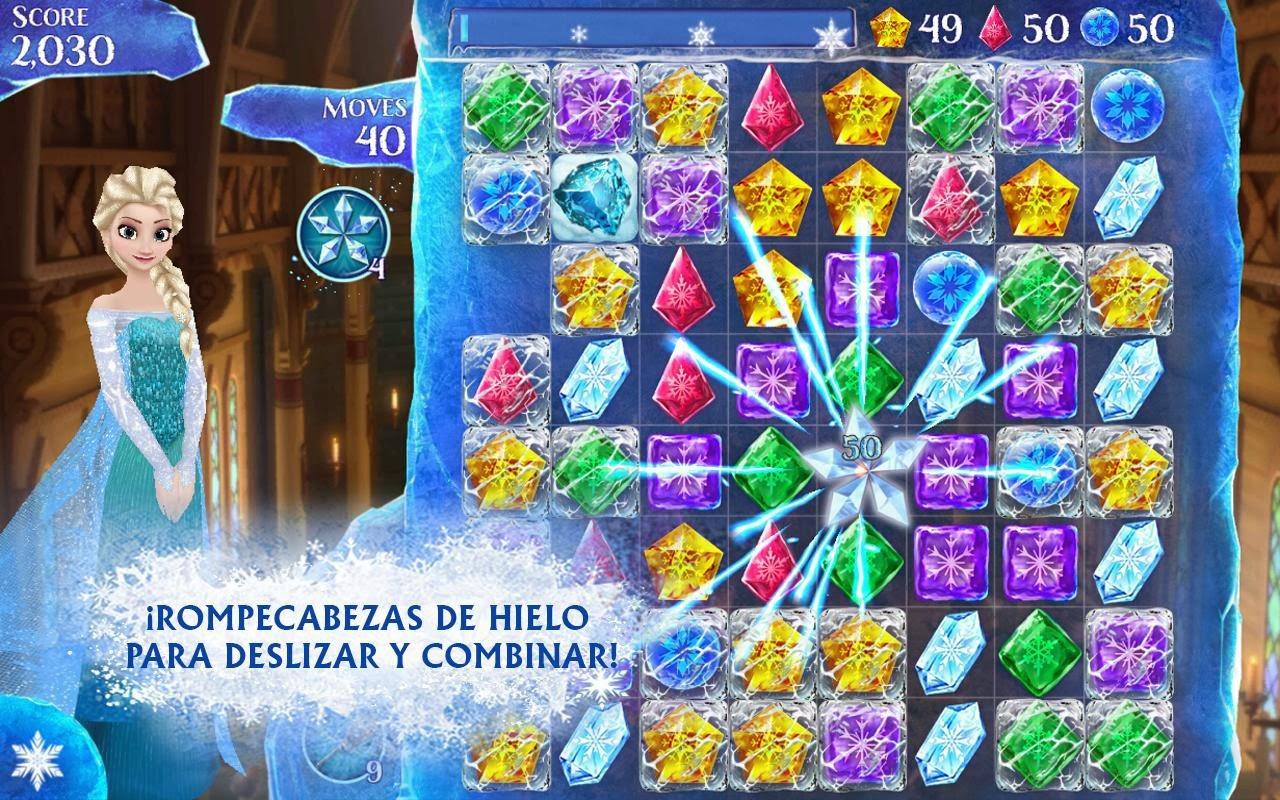 Disney lanza Frozen Free Fall para Android e iOS, el juego oficial de la película