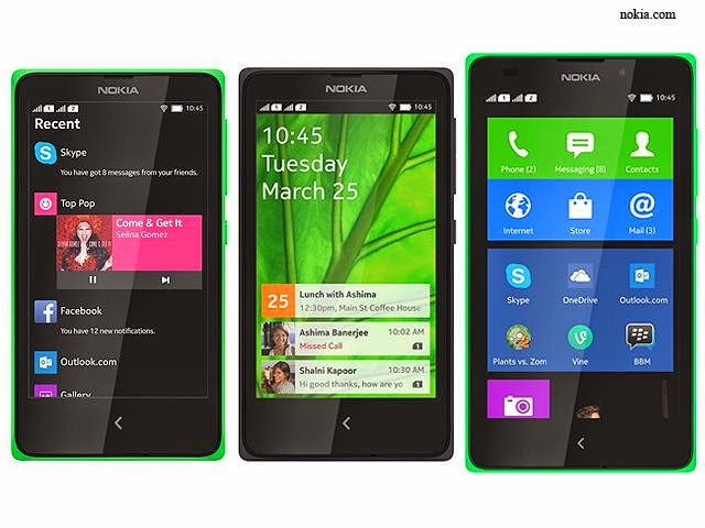 nokia x,smartphone,android mobile