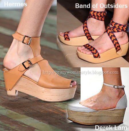 обувки с дървени подметки