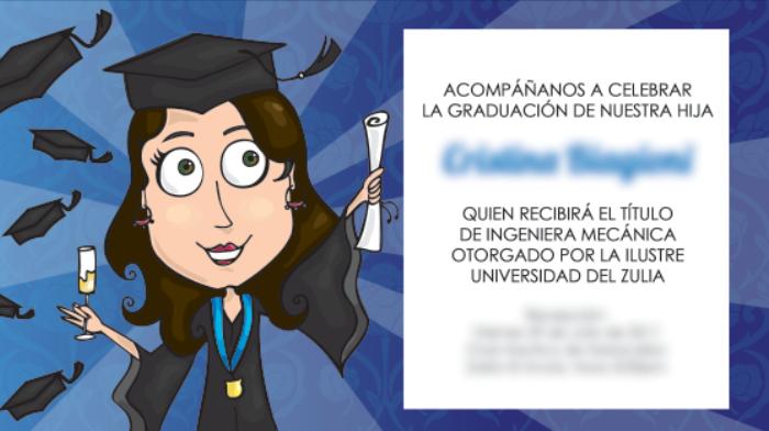 Tarjetas De Graduacion Felicitacion