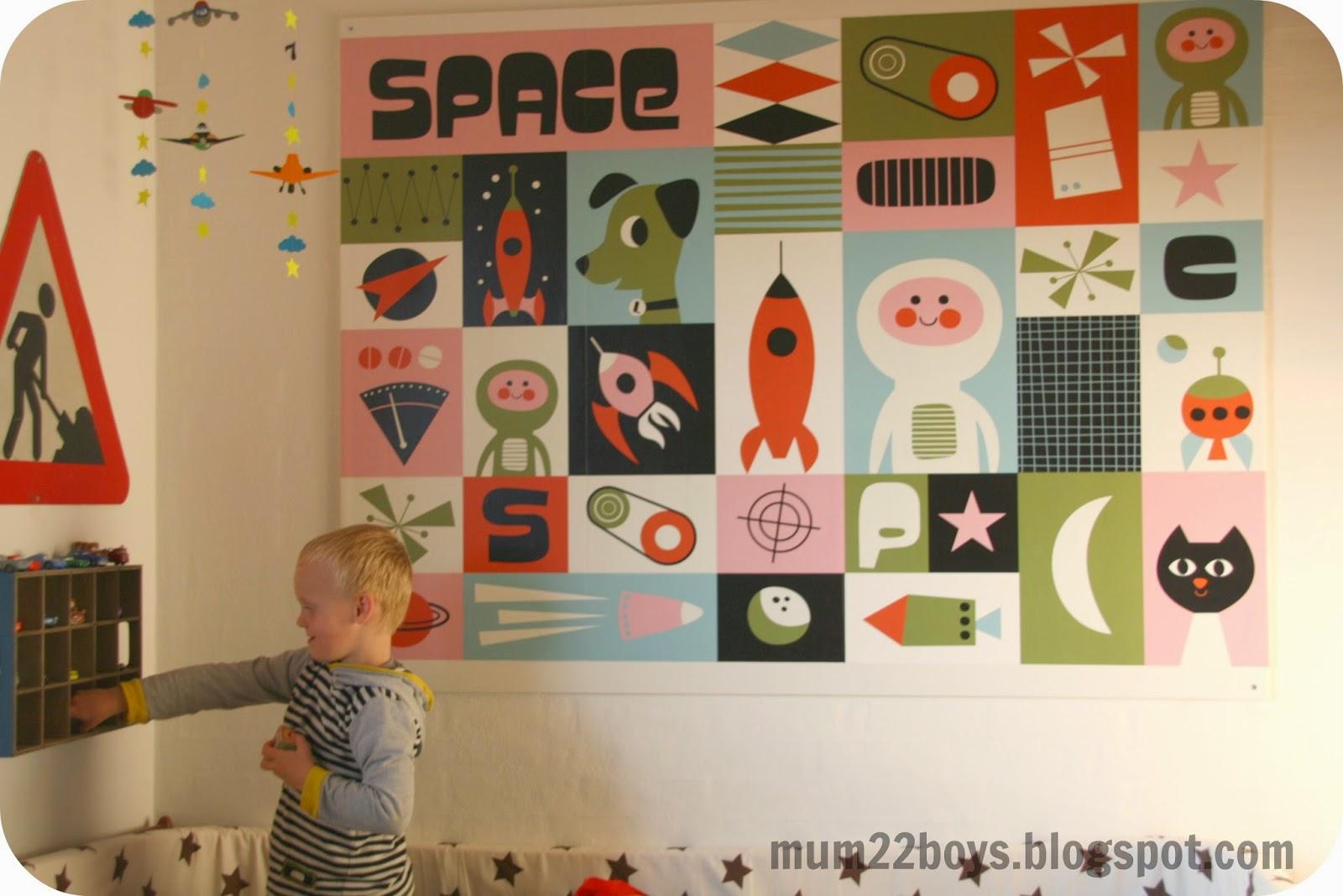 Mum 2 2 boys: så blev jacobs værelse færdigt...
