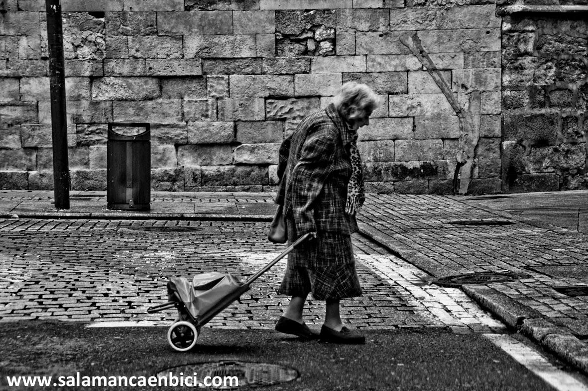 ciudad, salamanca, anciano,