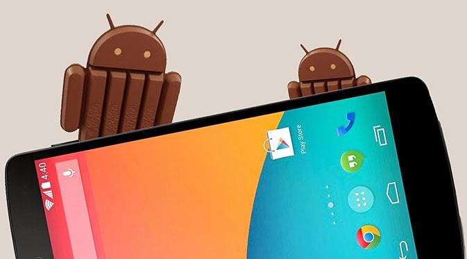 Cara Merubah Segala Jenis Android menjadi KitKat (Fake)