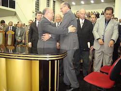 O Governador eleito em São Paulo, Geraldo Alckmin esteve no pulpito da IEAD