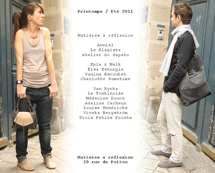 Chaussures anniel @ Matieres à reflexion - nouvelle collection