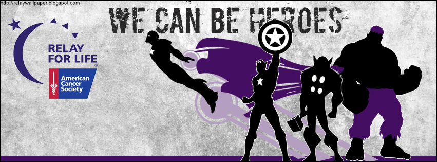 Relay Wallpaper Relay Facebook Covers Theme Superheroes