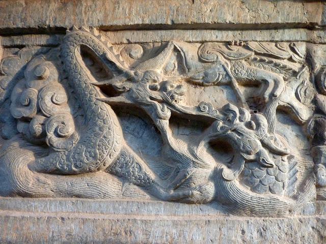 Detalle de la Stupa de But Thap