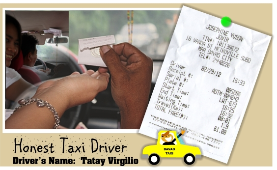 Araw, ng, Dabaw, Blog, Competition, Contest, Promos, Winnings, Davao, Life, is, here, Tourism, City, taxi, drivers, receipt