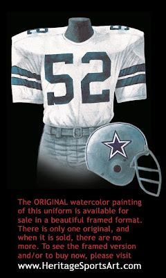 Dallas Cowboys 1977 uniform