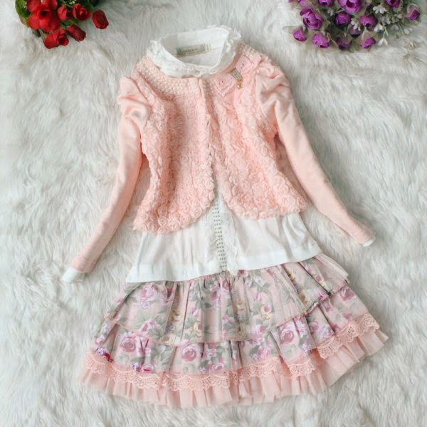 Contoh model baju korea untuk anak perempuan model baru