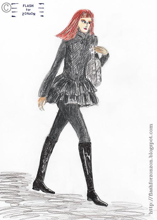 Street Style Helsinki, Ballerina tutu jacket.