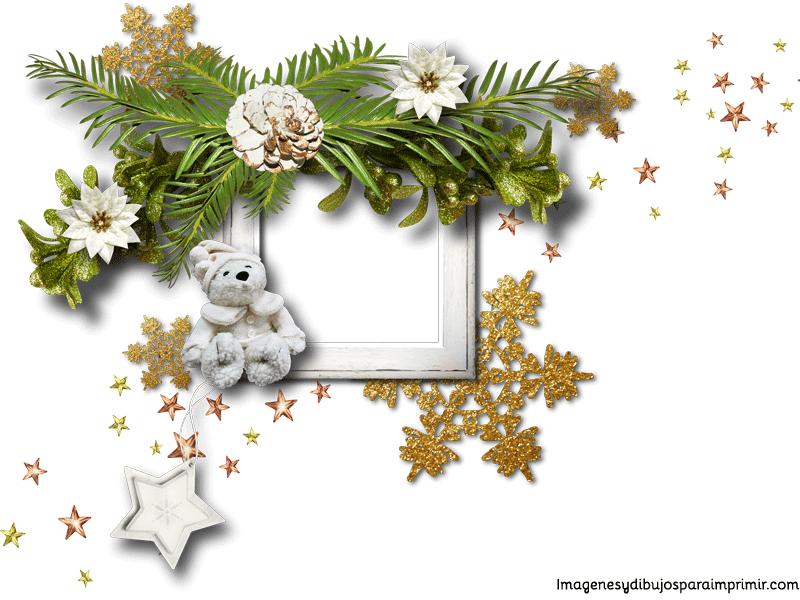 marco para bebes de navidad