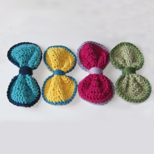 Free Crochet Patterns In The Round : Roaming Pixies: Free Crochet Pattern - Bow in the Round