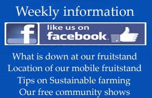 Weekly information about our farm