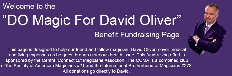 """DO Magic For David Oliver"" Benefit"