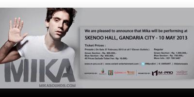 Mika Live in Jakarta 2013
