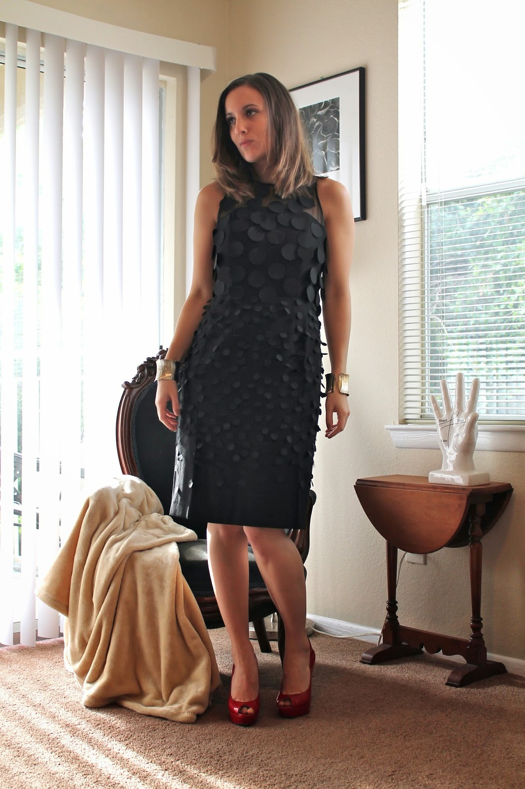Anthropologie, Jessica Simpson, Forever 21, fashion blog, style blog, lookbook, holiday style, holiday party dress, LBD