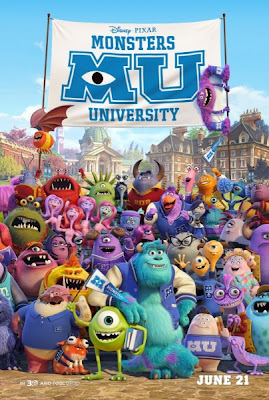 New Monsters University Poster