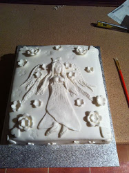 white angel cake