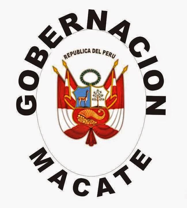 GOBERNACION MACATE