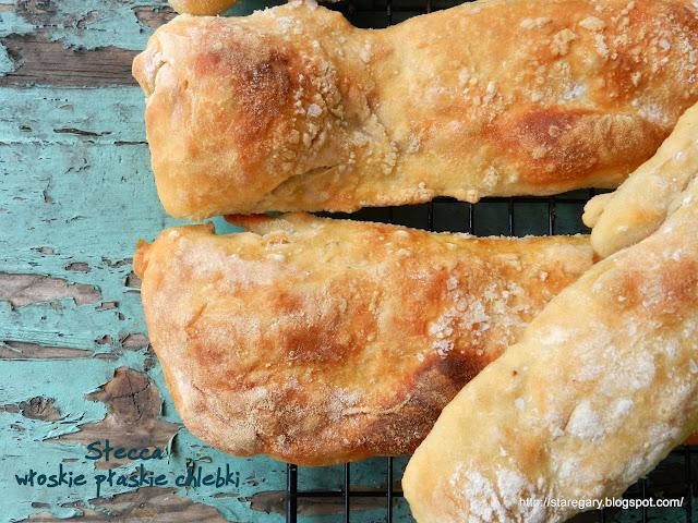 Stecca - włoskie płaskie chlebki