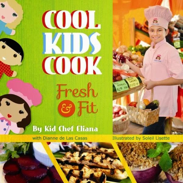 Louisiana book news cookbook thursday kid chef eliana cooks healthy forumfinder Choice Image