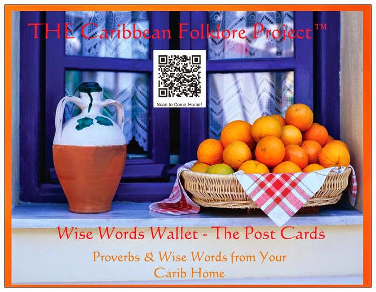 Wise Words Wallet -- The Postcards
